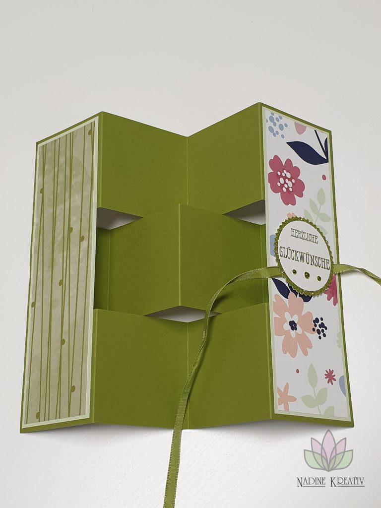 """Flip Book Card """"Papierblüten"""" 3"""