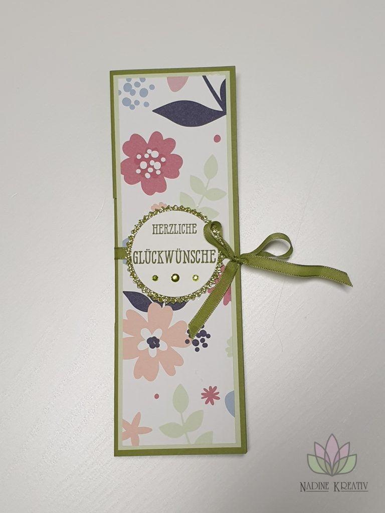 """Flip Book Card """"Papierblüten"""" 2"""