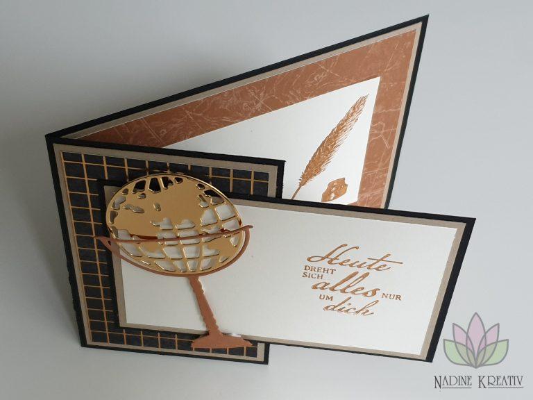 """Hochzeitskarte """"Ewiges Grün"""" 16"""