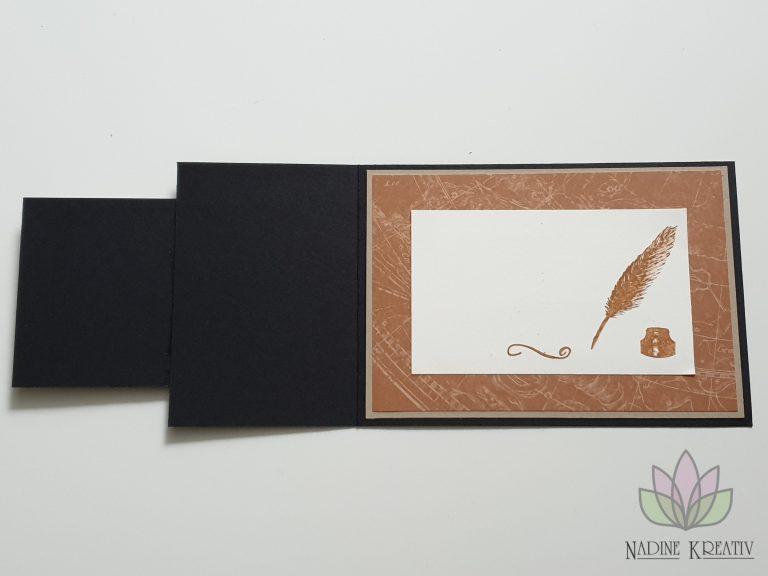 """Hochzeitskarte """"Ewiges Grün"""" 19"""