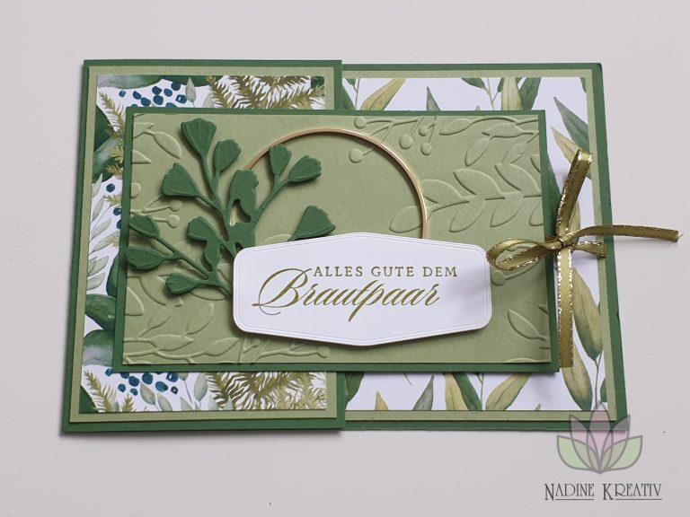 """Hochzeitskarte """"Ewiges Grün"""" 12"""