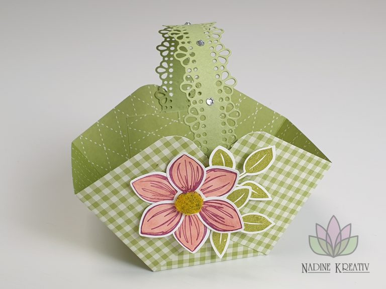 "Osterkörbchen ""Florale Freude"" 2"