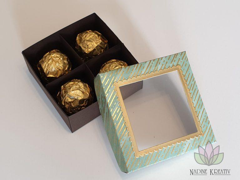 """Pralinenverpackung """"Goldener Herbst"""" 12"""