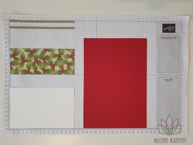 """Weihnachtskarte """"Weihnachtsstern"""" 3"""