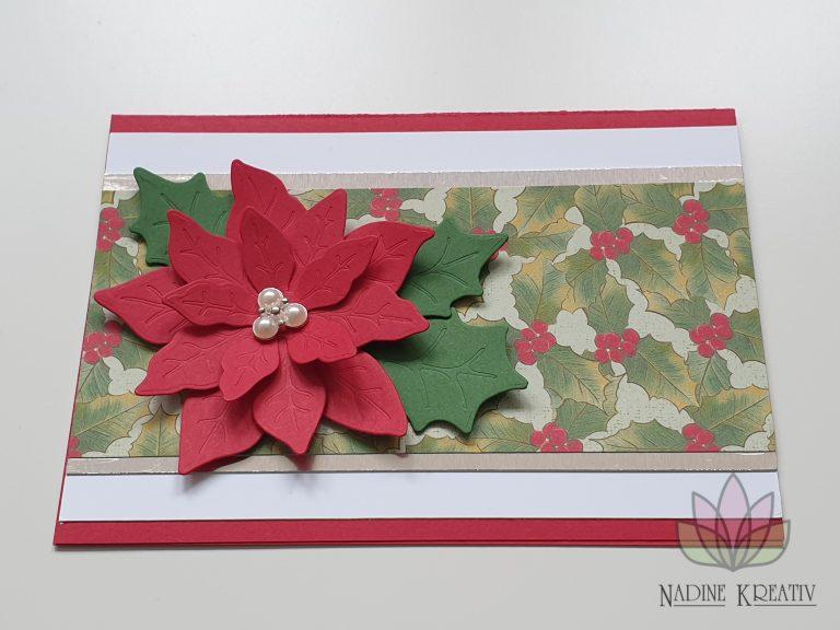 """Weihnachtskarte """"Weihnachtsstern"""" 7"""