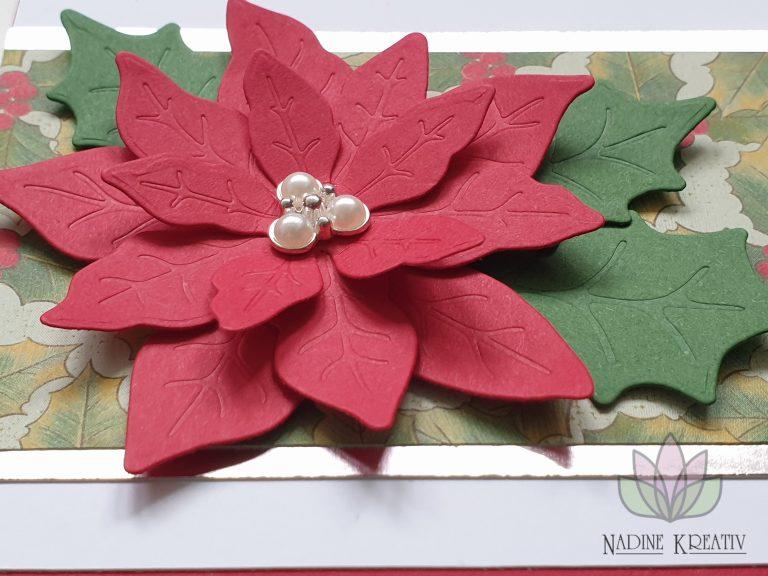"""Weihnachtskarte """"Weihnachtsstern"""" 8"""